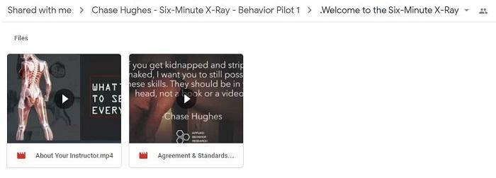 six-minute-x-ray-course-behavior-pilot